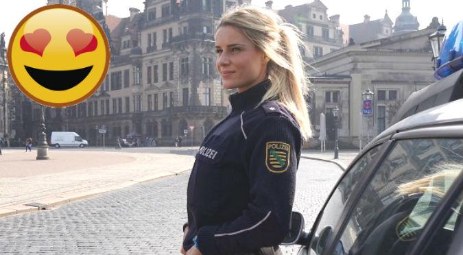 ¡Diosa! Policía alemana se convierte en toda una sex symbol en Instagram – FOTOS