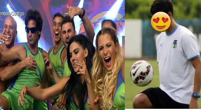¡La próxima Yahaira! Combatiente estaría en salidas con futbolista internacional (FOTOS)