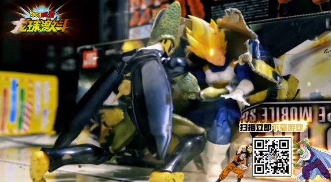 ¡Alucinante! Pelea de Dragon Ball en stop motion te dejará con la boca abierta – VIDEO