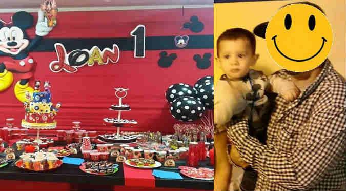 ¡Qué bacán! Chico reality festejó el primer año de su hijo (FOTOS)