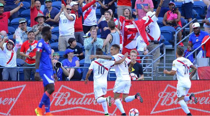 ¡Arriba Perú! Selección le ganó 1-0 a Haití con gol de Guerrero - VIDEO