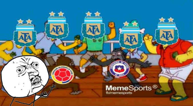 Copa América Centenario: Mira los graciosos memes de la previa Argentina-Chile - FOTOS