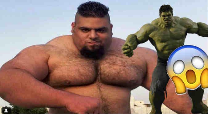 Instagram: 'Hulk iraní' causa furor en redes - FOTOS