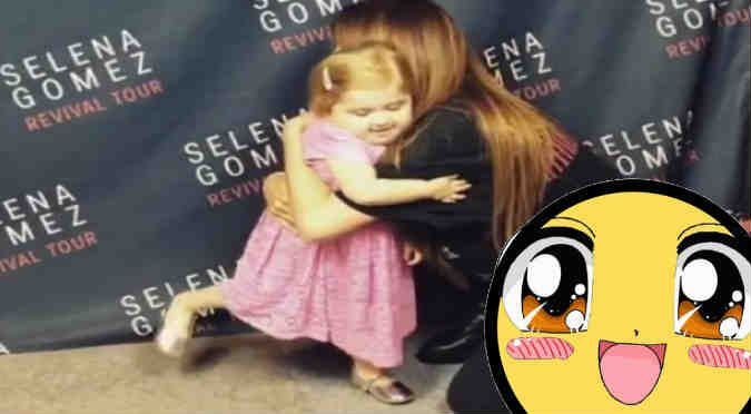 Selena Gomez: Mira su emotivo encuentro con youtuber que padece leucemia - VIDEO