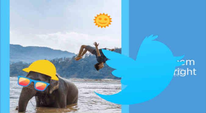 Twitter: Mira cómo agregar stickers a tus fotos