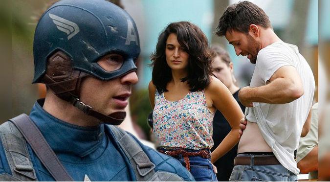 ¡Orgulloso! Capitán América responde así a quienes tildaron de 'fea' a su novia (FOTOS)