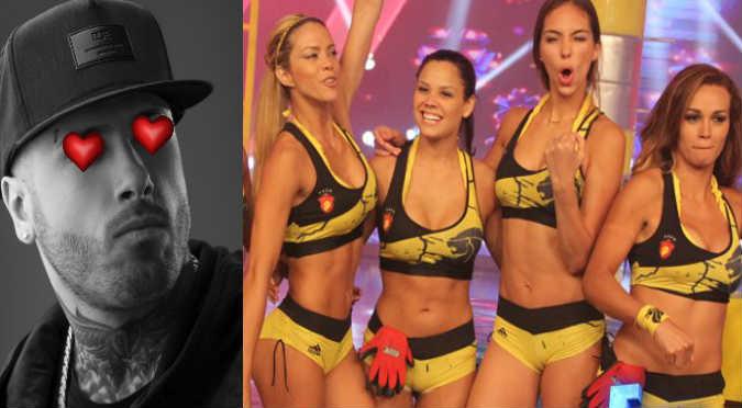 ¡Queee! ¿Esta guerrera flechó el corazón de Nicky Jam? (FOTOS)
