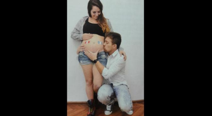 ¡Qué bonito! Yiddá Eslava y Julián Zucchi publican la ecografía de su bebé (FOTOS)