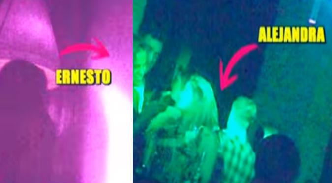 ¡No puede ser! Ampay pone al descubierto a Ernesto Jiménez y Alejandra Baigorria (VIDEO)