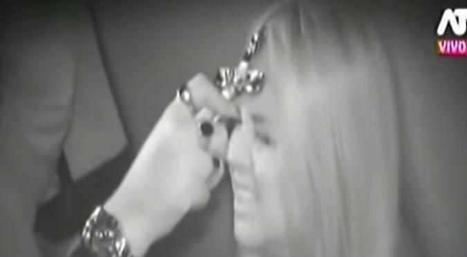 Sandra Arana ingresó a una casa embrujada y se llevó el peor susto de su vida (VIDEO)