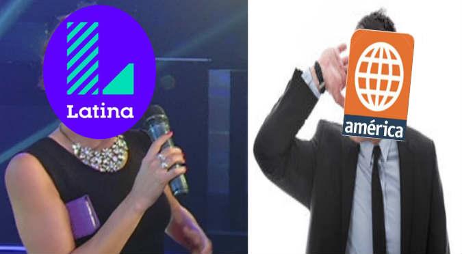 ¿Vende la información? ¿Este persona sería la infiltrada de América Televisión en Latina? (VIDEO)