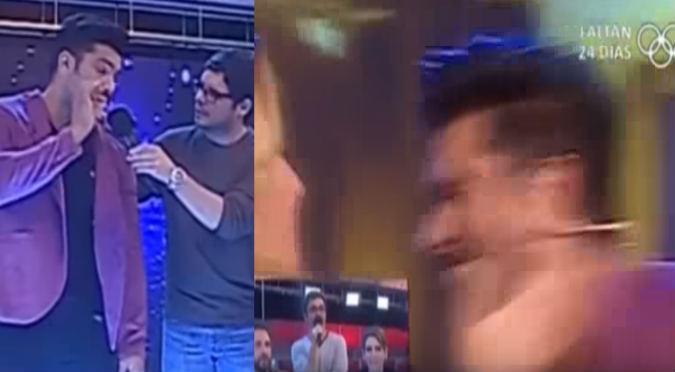 ¡Tremenda bronca! Yamila Piñero le dio tremenda cachetada a Rafael Cardozo por ... (VIDEO)