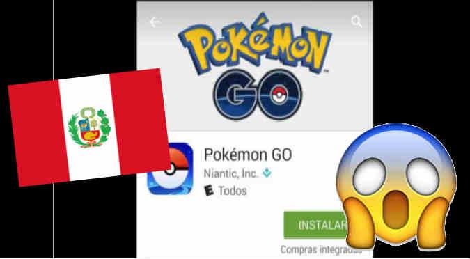 Pokémon Go:  ¡Llegó a Perú! Ya podrás descargarla