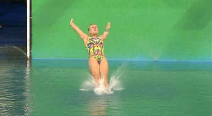 Río 2016:   Este fue el salto más ridículo de la competencia- VIDEO