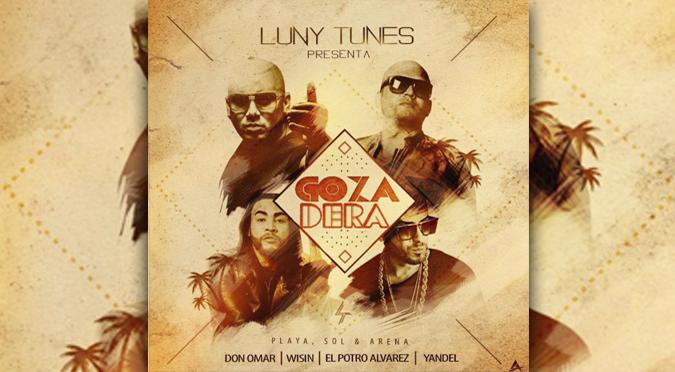 ¡Solo en Onda Cero! 'El Potro' Álvarez, Don Omar y Wisin y Yandel estrenan 'La Gozadera' (VIDEO)