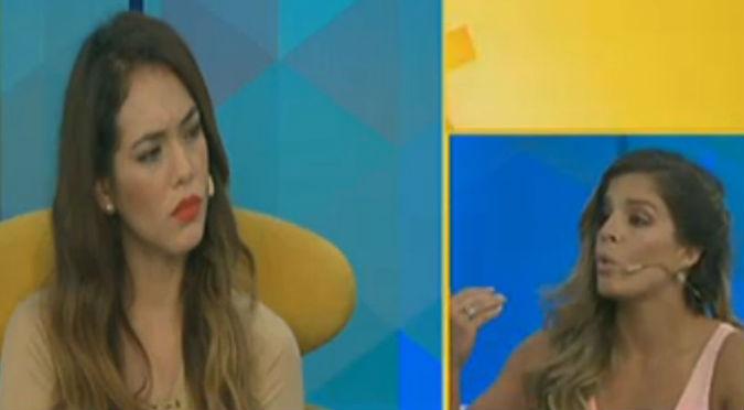 ¡Fuegooo! Alejandra Baigorria habló mal de Jazmín Pinedo y ella la enfrentó así (VIDEO)