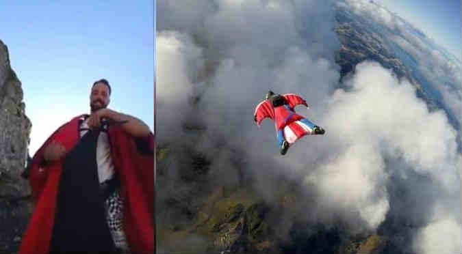 YouTube:  Este paracaidista transmitió su propia muerte en vivo