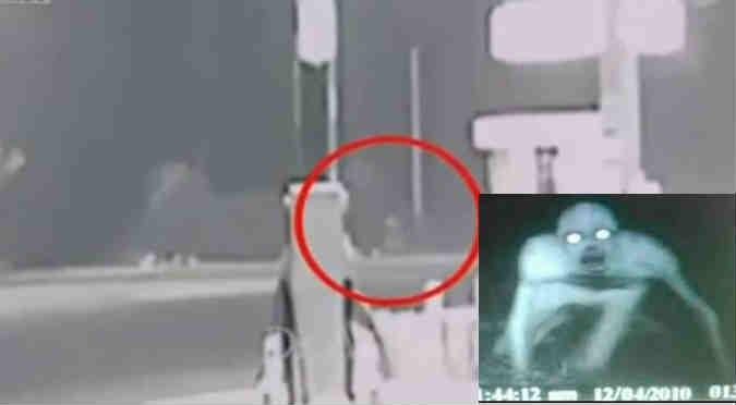 YouTube: Este humanoide apareció al medio de la Panamericana Sur