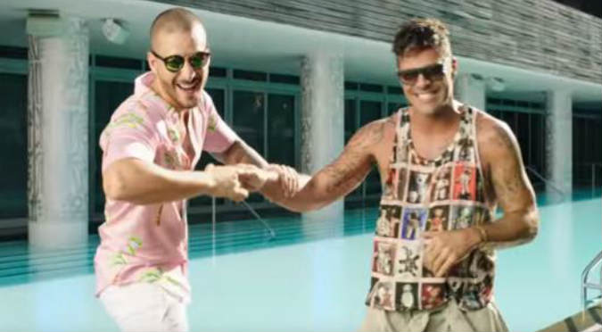 ¡Tremendo dúo! Ricky Martin y Maluma estrenan el videoclip de 'Vente pa'ca'