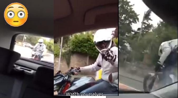 YouTube: Quiso evitar un fatal choque pero todo le salió mal