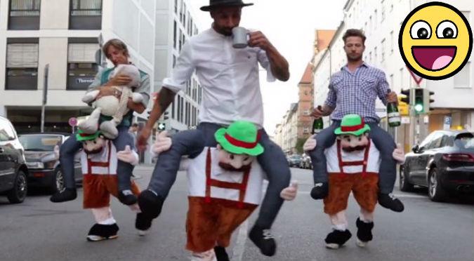 Facebook: ¡Lo peor viene después! Estos  alemanes ebrios hicieron de las suyas - VIDEO