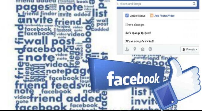 Facebook: Si quieres cambiar el tipo de letra en tu post, este truco debes saber