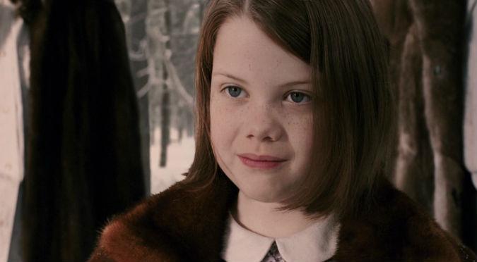 ¡Awww! Checa cómo luce Lucy de 'Las crónicas de Narnia' (FOTOS)