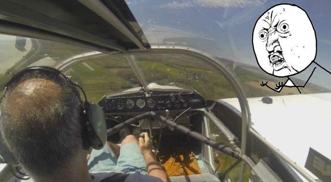 YouTube: Perdió la hélice de su avioneta en pleno vuelo y esto pasó