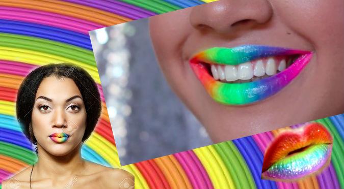 YouTube: ¿Quieres pintarte los labios bien cool? Sigue este truco