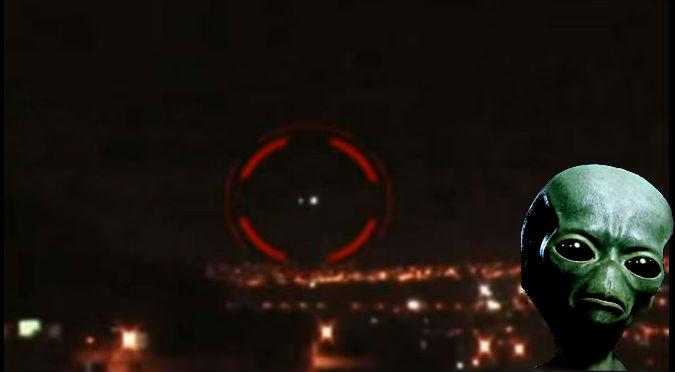 YouTube: Extraño OVNI  amarillo apareció en Arequipa