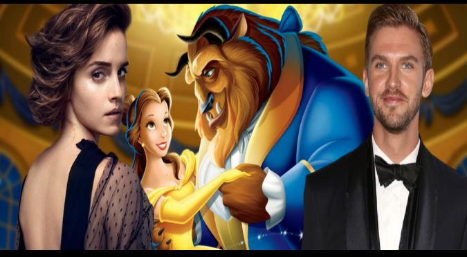 La Bella y la Bestia: ¡Se filtran nuevas imágenes de Emma Watson y Dan Stevens!