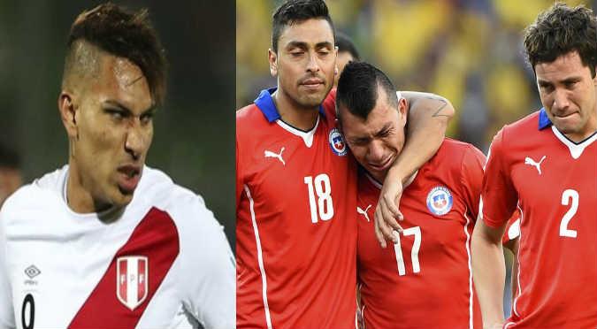 ¡Se pasaron! Hincha chileno quemó camiseta peruana  (FOTO)