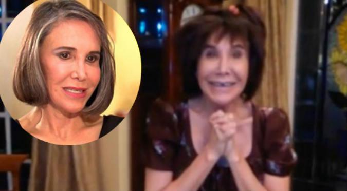 ¡Qué bacán! Florinda Meza volvió a ser 'La Chimoltrufia' y luce genial (VIDEO)