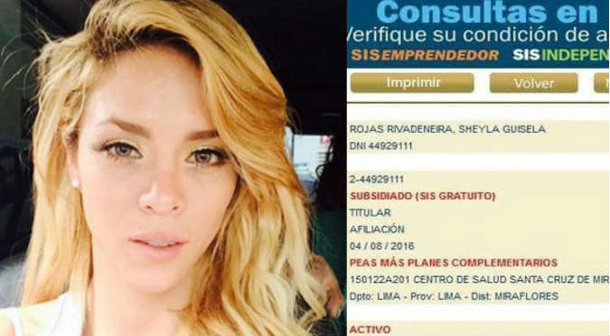 ¡Bomba! Sheyla Rojas se defendió de esta grave denuncia