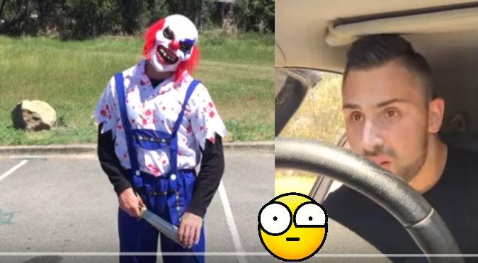 YouTube: El propósito de este 'payaso diabólico'  remeció las redes sociales