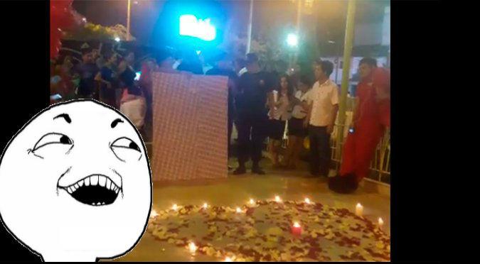 Facebook: ¡Esta locura de amor superó a todas! Conoce el motivo - VIDEO