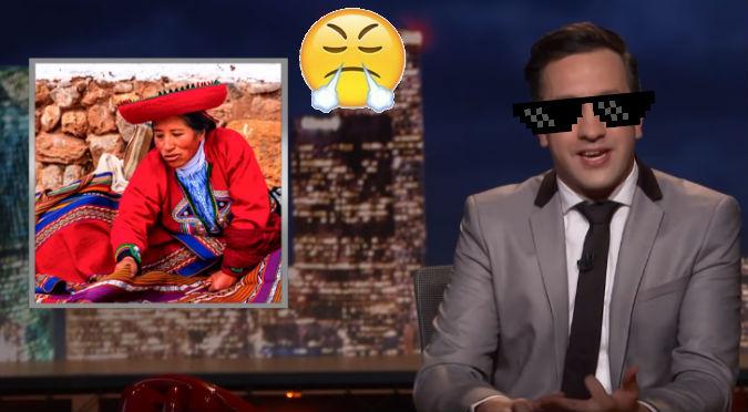 YouTube: ¡En pleno programa en vivo! Así troleó a Perú al burlarse de Chile