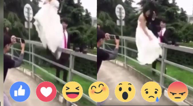 YouTube: Querían tener la sesión de fotos más romántica, pero terminaron así