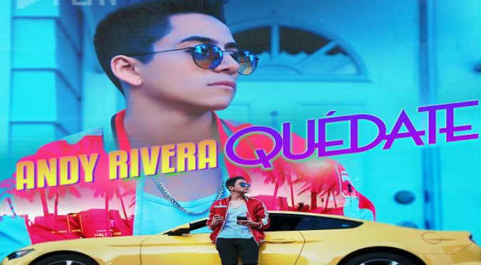 ¡Buenazo! Andy Rivera te invita a escuchar 'Quédate' por Onda Cero (VIDEO)