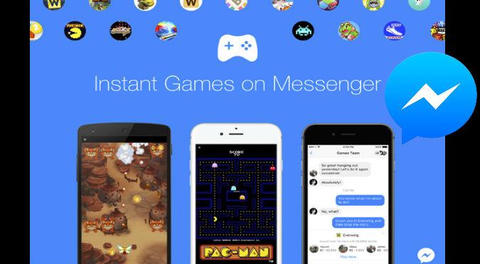 Facebook: Los juego de tu infancia ya están en la app
