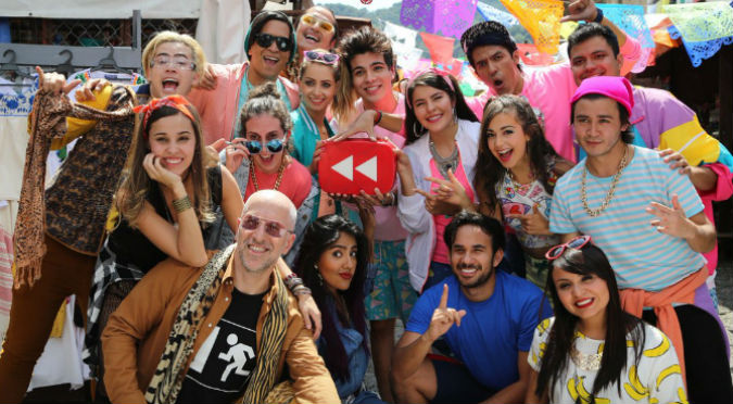 ¡Por primera vez! Peruano fue parte del 'YouTube Rewind 2016'   - VIDEO