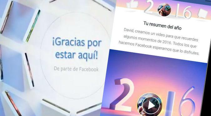 Facebook: ¿Quieres editar tu video resumen del 2016? Sigue estos pasos