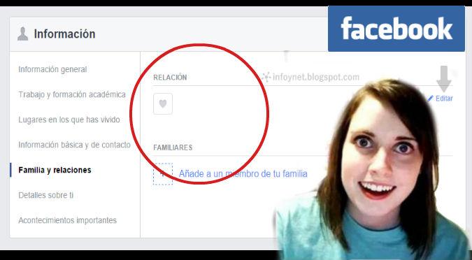 Facebook:  ¿Ocultas tu situación sentimental? Así lo hagas, con este truco sabrán la verdad