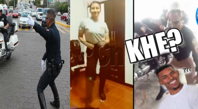 Facebook: Este el reto viral del Policía que alborota las redes - VIDEO