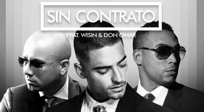 "Maluma lanza ""Sin Contrato"" Remix junto a dos grandes de la música urbana (VIDEO)"