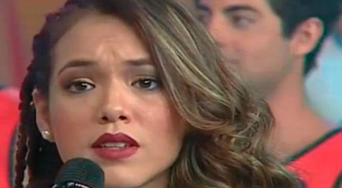 ¡Qué fuerte! Damnificada por huaico llama hipócrita a Jazmín Pinedo y ella reaccionó así