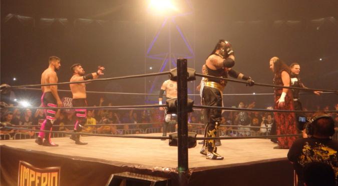 IMPERIO: Revive lo que fue el super show con Los Hardy Boyz y Alberto del Río (FOTOS)
