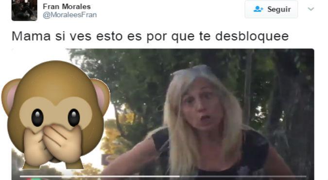 Viral: Bloqueó a su mamá en Facebook y  ella le hizo este berrinche -VIDEO