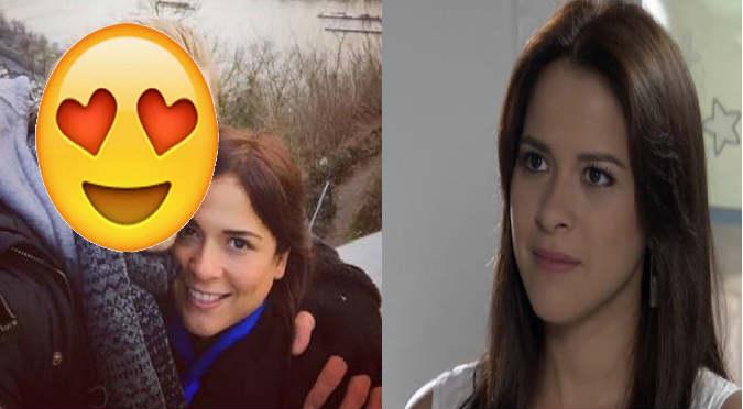 ¿Nueva parejita en VBQ?: 'Cristina' tendría una relación con este actor de la novela (FOTOS)