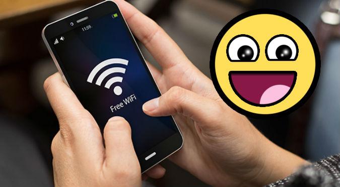 ¿Quieres Wifi y no sabes la clave? Checa este truco